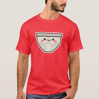T-shirt feliz das cuecas