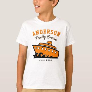 T-shirt Férias conhecidas feitas sob encomenda do cruzeiro