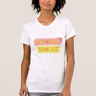 T-shirt Férias da primavera