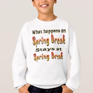 T-shirt Férias da primavera o que acontece