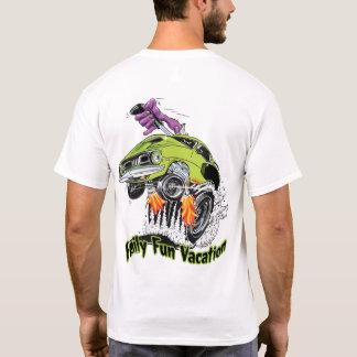 T-shirt Férias do divertimento da família da excursão do