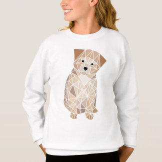 T-shirt Filhote de cachorro do polígono
