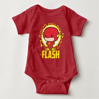 T-shirt Flash de Chibi com eletricidade