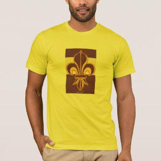 T-shirt Flor de lis