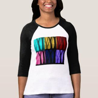 T-shirt Floresta mágica multi