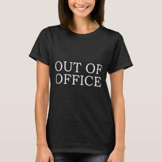 T-shirt fora do escritório