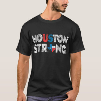 T-shirt forte de Houston Texas do vintage