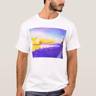 T-shirt Fulgor da praia