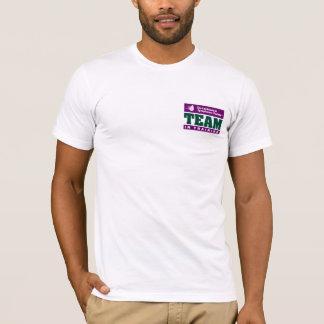T-shirt Fundraising da parte dianteira e da parte