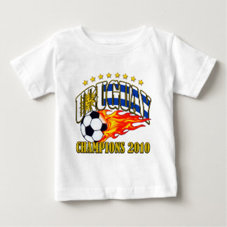 T-shirt Futebol de Uruguai