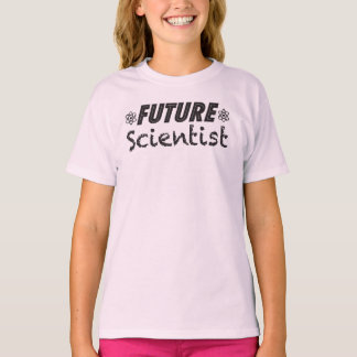 T-shirt futuro das meninas do cientista