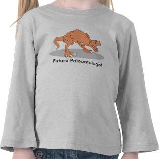 T-shirt futuro do Paleontologist