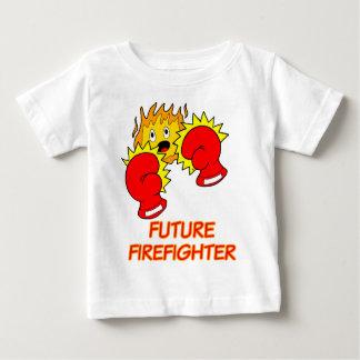 T-shirt futuro do sapador-bombeiro