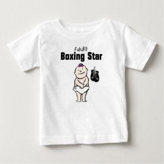 T-shirt futuros do bebé da estrela do