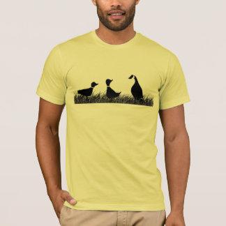 T-shirt Ganso do pato do pato