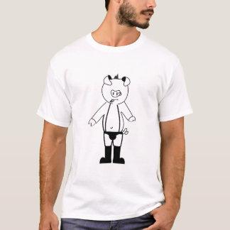 T-Shirt Gay Pig