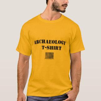 T-shirt genérico da arqueologia