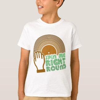 T-shirt Gire-me círculo direito