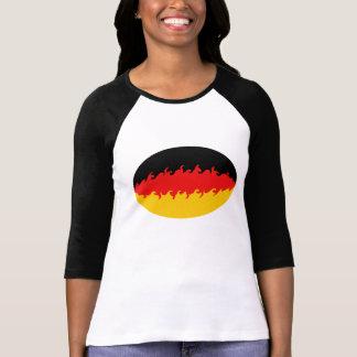 T-shirt Gnarly da bandeira de Alemanha