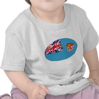 T-shirt Gnarly da bandeira de Fiji