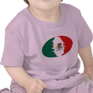 T-shirt Gnarly da bandeira de México