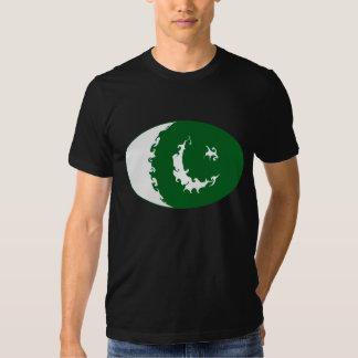 T-shirt Gnarly da bandeira de Paquistão