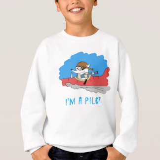 T-shirt Guaxinim: Eu sou um piloto