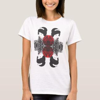 """T-shirt Gueixa nos fours """"uma reflexão """""""