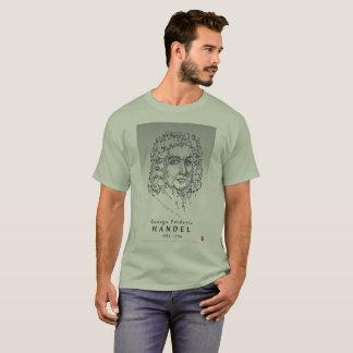 T-shirt Handel: Enfrente a música