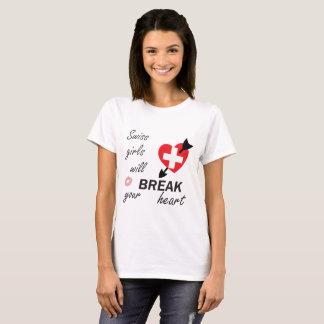 T-shirt Heartbreaker suíço
