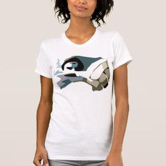 T-shirt homem do pólo aquático
