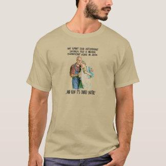 T-shirt Humor do aquecimento global