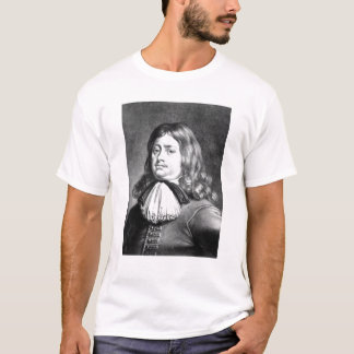 T-shirt Ilustração do almirante Conde Penn