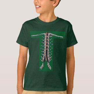 T-shirt IMPRESSÃO da decoração de EmbroideryLook