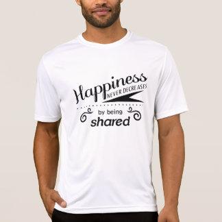 T-shirt inspirador inspirado das citações