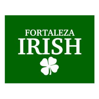 T-shirt irlandês feito sob encomenda orgulhoso da cartão postal