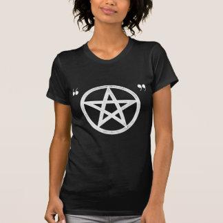 T-shirt irónico pagão do Pentacle do hipster