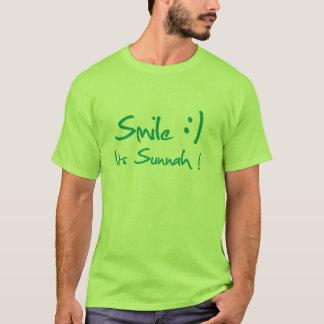 T-shirt islâmico Smily