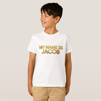 T-shirt JacobMacron - Boys - White -