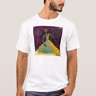 T-shirt Jasmim no açafrão