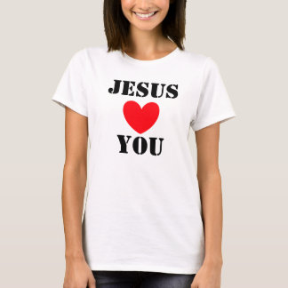 T-SHIRT JESUS AMA-O