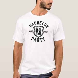 T-shirt Jogo sobre o despedida de solteiro