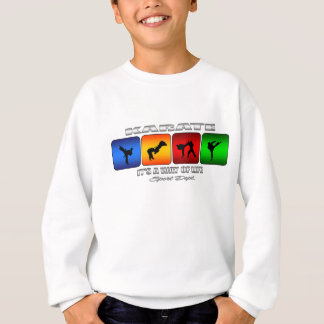 T-shirt Karaté legal é um modo de vida