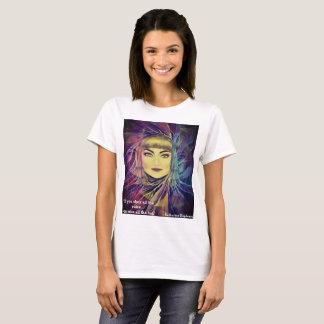 T-shirt Katharine Hepburn - citações inspiradas do
