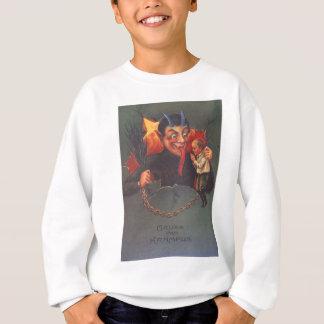 T-shirt Krampus que pune a criança