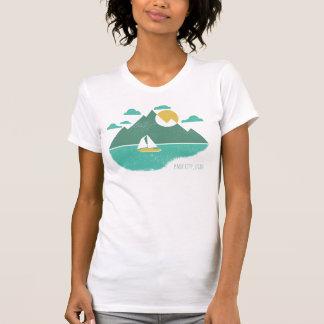T-shirt lago da montanha de Park City Utá