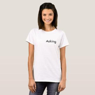 T-shirt Lei de pedir (LOA) da atração/que obtem