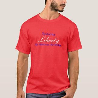T-shirt Liberdade, - a volta americana, restaurando