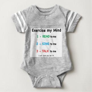 T-shirt LIDO - exercite minha mente