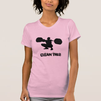 T-shirt Limpe isto!